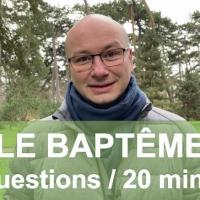 Pourquoi le baptême ?